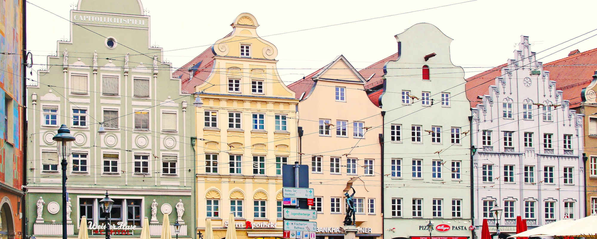 Fassadenarbeiten, Anstriche, Restaurierung Augsburg