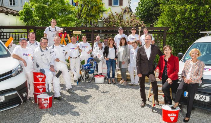 Maler Fiener Augsburg Team